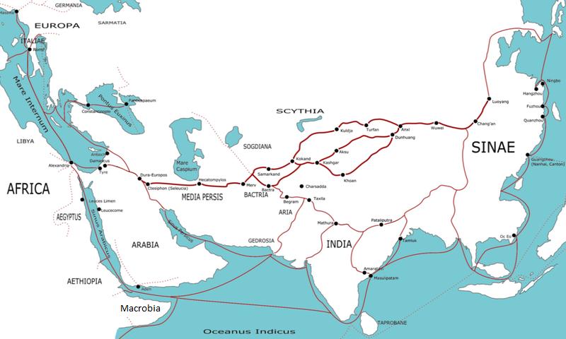 China-Italien-Seidenstraße