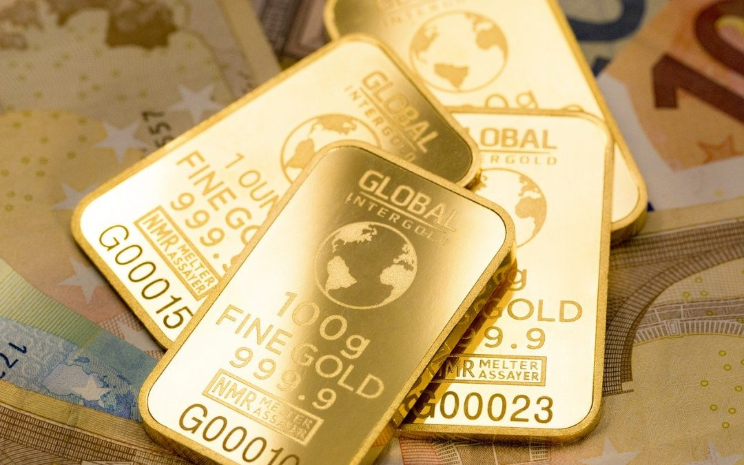Gold-Goldbarren-Goldpreis