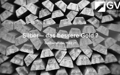 Silber – das bessere Gold