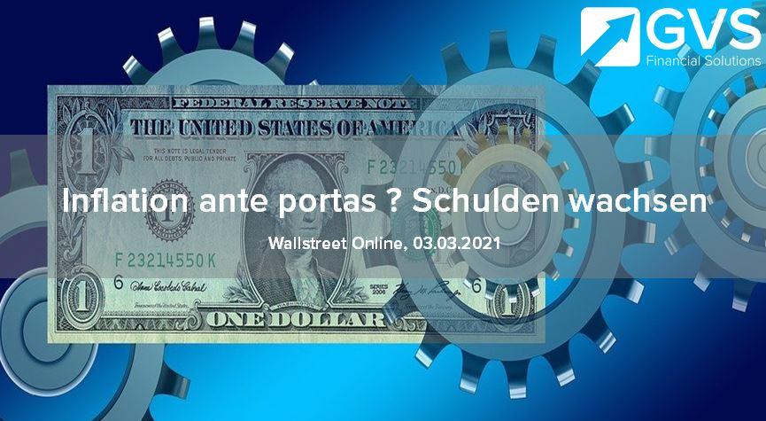 Inflation-Schulden-M3-Geldmenge-USA