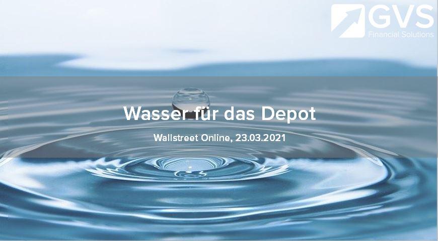 Wasser-Depot-Rendite