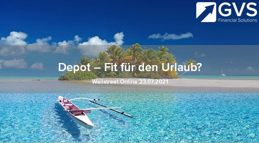 Depot-Urlaub-Absicherung