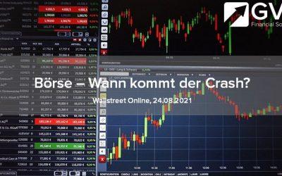 Börse auf Rekordhoch – kommt der Crash?